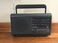 USED GE 2 BAND PORTABLE RADIO W/POWER CORD