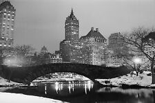 """Old Central Park New York City USA Large Canvas Picture Wall Art 30"""" x 20"""""""