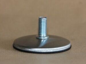 M10 STAINLESS STEEL INOX Threaded Stem Adjustable Furniture Feet 60 mm. ELEVATE
