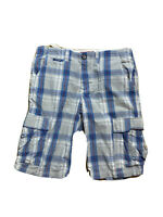 Superdry Beer Mens Size Large Golf /Walking Shorts Checked With Pockets.