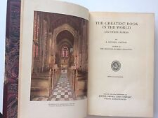 """Antique Newton BIBLE Illustrated """"Greatest Book in the World"""" Book Collecting"""