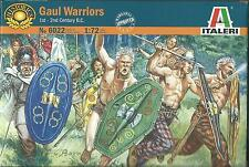 ITALERI 1:72 SOLDATINI 1st-2nd CENTURY B.C. GAUL WARRIORS 40 FIGURE     ART 6022