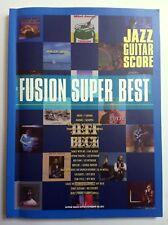 FUSION SUPER BEST GUITAR SCORE JAPAN TAB GEORGE BENSON CASIOPEA