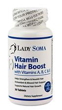 Vitamin Hair Boost with Vitamins A, B, C & E