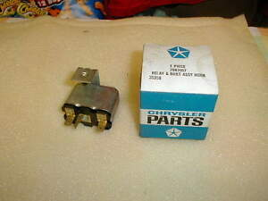 NOS MOPAR HORN RELAY 1970 B BODY GTX CHARGER RUNNER BEE