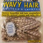 Vintage One  Only Creations Wavy Doll Hair Golden Blonde Braided  Crimped 5 FT