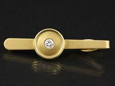 Elitäre Brillant Krawatten Nadel 0,56ct Neu & Ungetragen   17,5g 750/- Gelbgold