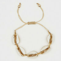 Bohemia Cowrie Shell Bracelet Summer Beach Women Handmade Bangle Jewelry GIL