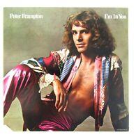 "Peter Frampton I'M IN YOU Record 12"" Vinyl LP Album 33 RPM 1977 A&M B1"