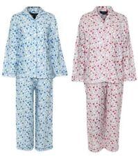 Floral Pajama Sets Regular Size Sleepwear for Women