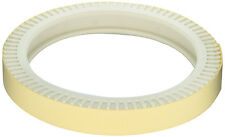 PAIR OF WHITE FRONT REPLACEMENT STRAP TYRES FOR TILED POOLS - THE POOL CLEANER