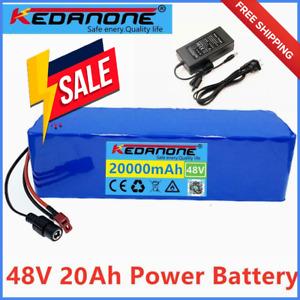 Li-ion Battery 48v 20ah Volt Rechargeable Bicycle 1000w E Bike Electric Li-ion Ã