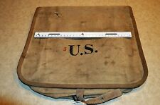 Antique US Army Spanish American War Khaki Haversack Authentic