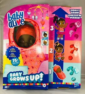 Baby Alive: Baby Grows Up - Surprise Doll with 8 Accessories (E8198)