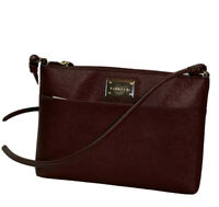 NWT Calvin Klein Purple Rum Raisin Crossbody Bag Purse H6JE16RY $108