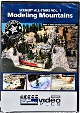 Kalmbach 15349 Scenery All-Stars: Modeling Mountains Vol. #1 DVD