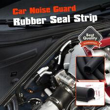 D-Shape Rubber Edge Trim Door Trunk Seal Strip Proof Weatherstrip 3M (10ft) 13m
