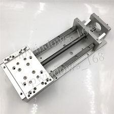 Cross Slide Table L300mm Linear Stage Heavy Load RM1605 Ballscrew XYZ Axis Mill