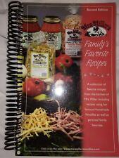 Mrs Millers Familys Family Favorite Recipes Cookbook Noodles Spiral Book 2nd