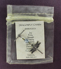 Dragonfly Totem Amulet Charm Talisman Insect Animal Magick Symbol Sign Spell