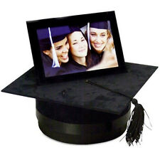 GRADUATION HAT WITH MEMORY PHOTO FRAME GIFT/ MORTARBOARD CAP ORNAMENT PRESENT