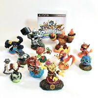 11 Skylanders Lot Plus PS3 Swap Force BlueRay Disc See Detailed List & Photos