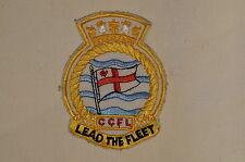 Canadian Navy RCN Commander Canadian Fleet Atlantic CCFL Crest Patch