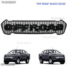 Off Road Black Grill Grille Fit Ford Ranger UTE PX2 FX4 MK2 Raptor 2015 16 17