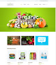 Organics Website Web Design Natural Food E-commerce Online Shop eCommerce Store