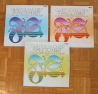G207 GILBERT SCHUCHTER SCHUBERT COMPLETE WORKS FOR SOLO PIANO 15 x LP RCA STEREO