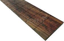 "Indian rosewood guitar fretboard,fingerboard 25.5"" IBANEZ slotted R17""-diapasón"