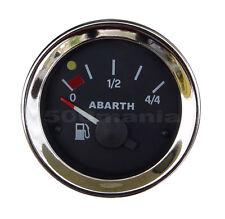 FIAT 500 F/L/R e FIAT 126 - STRUMENTO LIVELLO BENZINA NERO Ø 52 mm - LOGO ABARTH