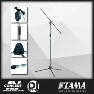 Tama MS205BK Heavy Duty Professional Boom Mic Stand (Black) Microphone Stand