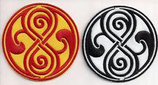 Dr. Who - Seal of Rassilon / Time Lords - Aufnäher Patch Set - zum Aufbügeln