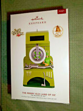THE MERRY OLD LAND OF OZ,Yr 2019 Hallmark Or nament,SOLAR MOTION