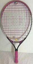 "Wilson Venus Serena Pink/Gray/Black Tennis Racquetball Racquet 3 1/2"" w/ Cover"