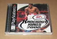 Knockout Kings 2000 for Playstation PS1 Complete Fast Shipping!