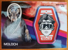 2018 Topps Solo: A Star Wars Story - Moloch Patch Card #MP-MH!