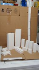 13x 1:350 scale High Rise, Apartment, Model, Skyscrapers, Buildings White