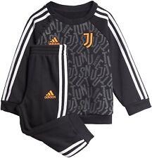 Suit Juventus Baby Jogger Kids 2020/21 Black Cotton Cuff ADIDAS New