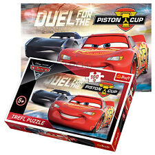 Trefl 100 Piece Kids Boys Disney Pixar Cars 3 Lighting McQueen Jigsaw Puzzle NEW