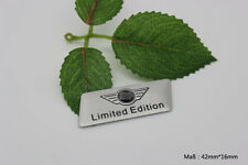 D314 Limited Edition for mini Auto Emblem Badge Aufkleber PKW KFZ Car Sticker