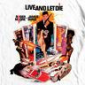 James Bond T-shirt 007 Live Let Die retro vintage 70's film graphic cotton tee