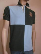 Ralph Lauren TURQUOISE / GREEN CUSTOM FIT RUGBY NWT L