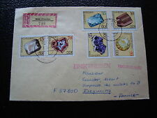 ALLEMAGNE RDA lettre 17/1/75 - timbre stamp germany (cy1)