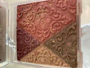 Mary Kay Filigree Eye and Cheek Powder STUNNING .32oz quad (rose,brown & purple)