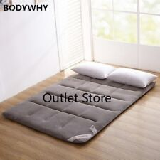 Flannel Tatami Folding Kingsize Bed Cushion/pad Super Soft Mattress Safety