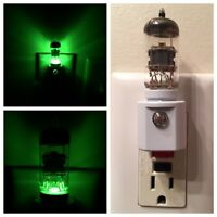 Pre-Amp Vacuum Tube Green LED Night Light with Valve from Mcintosh Amplifier