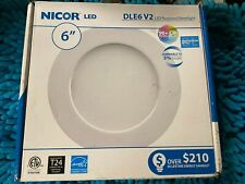 Nicor DLE6 V2 LED Recessed Downlight 6""