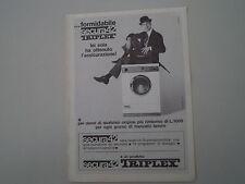 advertising Pubblicità 1965 LAVATRICE TRIPLEX SECURA 42
